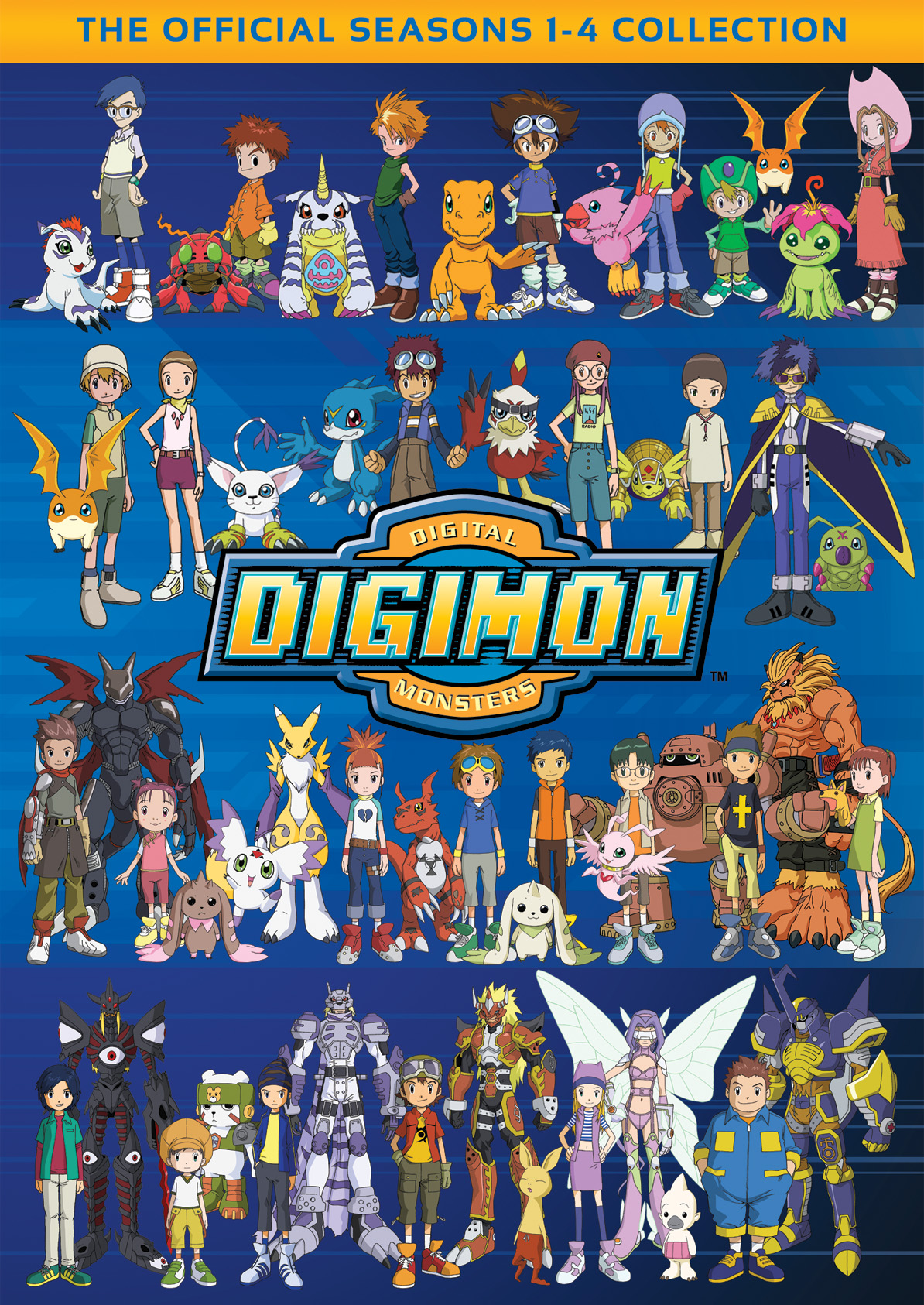 Digimon Collection Seasons 1-4 - Flatiron Film Company - Cinedigm ...